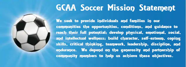 GCAA Soccer Mission Statement